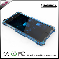 Blue Shockproof cell phone metal case for iphone metal Aluminium cover