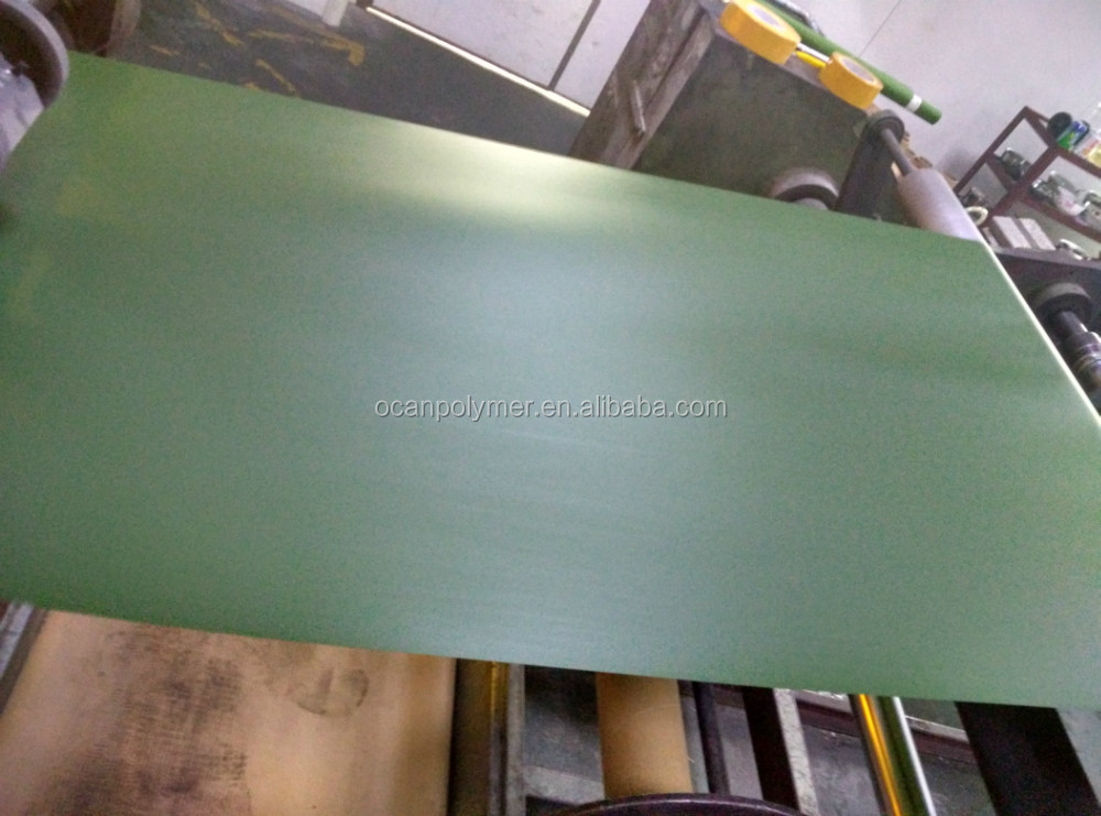 0.07mm 0.1mm 0.12mm thickness 691color green pvc film for fence