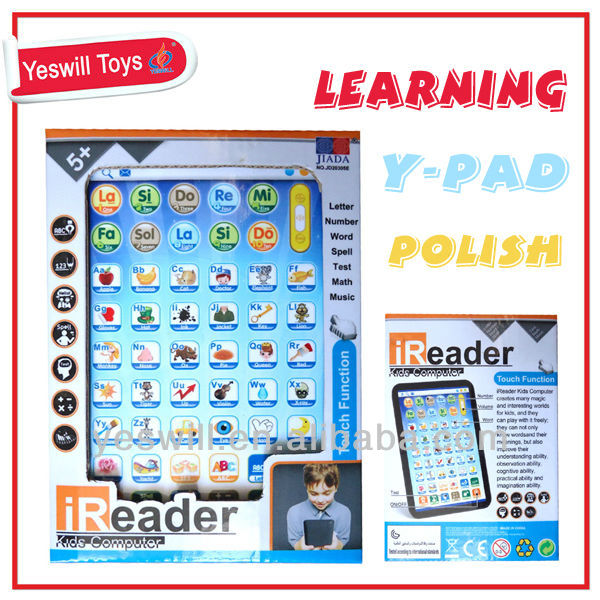 Polish Learning machine, Y-pad learning toys for sale