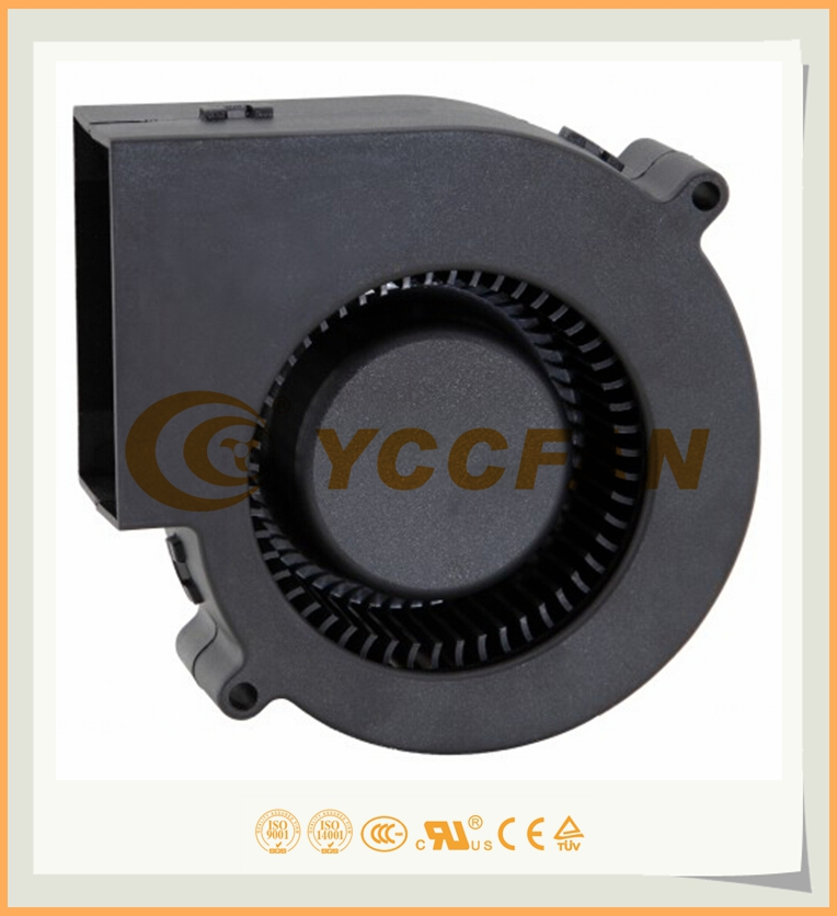 RoHS DC 24V 48V 97*97*33MM BRUSHLESS CENTRIFUGAL BLOWER FAN for industrial machine