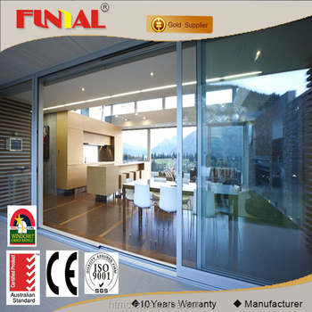 Manufacturer customs low-e glass sliding door,single/double glass aluminum alloy sliding door for residental