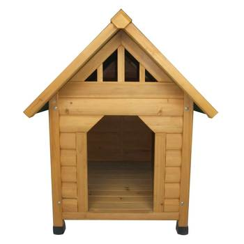 Fir Wooden Dog Kennel