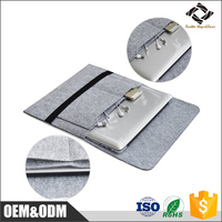 OEM & ODM Cheap 15-15.6 inch felt laptop bag notebook sleeve cover for Apple MacBook Air and MacBook Pro 13.3 inch