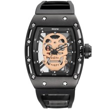 aliexpress hot selling Skone new design fashion skull watch