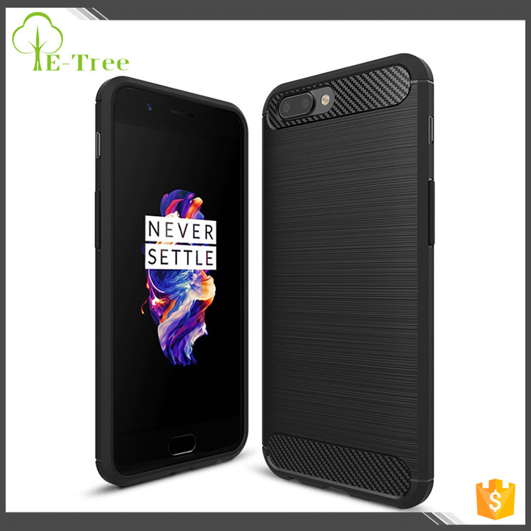 Fashionable design Moq 50 pcs per 1.4mm thickness model tpu case for oneplus 5 cover