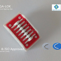 China Manufacture Titanium Ligation Clips
