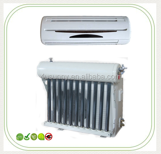 Ductless Wall Mount Mini Split Hybrid Solar Air Conditioner with Heat Pump, 12000 BTU (1 Ton), 15 SEER, 208~230 VAC