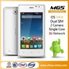best selling products OMES Mobile MG5 4 inch 3G factory very cheap china cell phone price