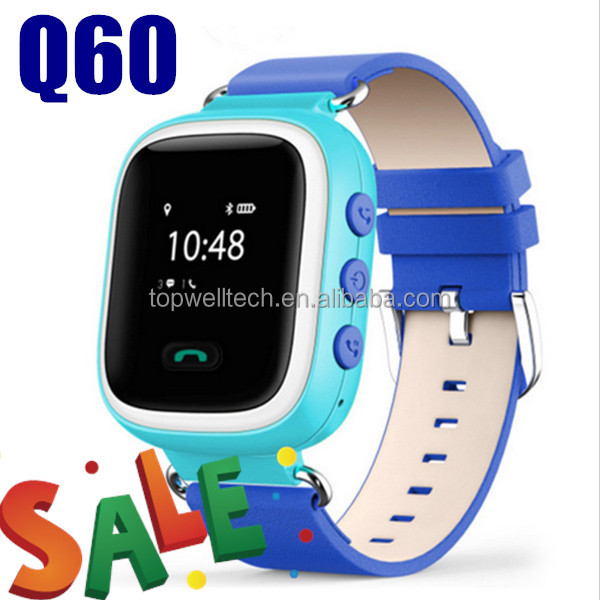 Cheap Kid Safe GPS Q60 Chil children ce rohsgps latest wrist watch mo SOS Call Location Finder Locator Tracker Anti Lost Monitor