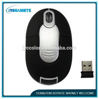 TSJ0010 USB Thin USB Optical Wireless Mouse 2.4G Receiver Super Slim Mouse For Computer PC Laptop Desktop Accessories