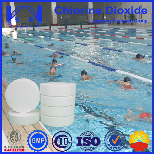 Water Purification Tablet of Stabilized Chlorine Dioxide for Swimming Pool