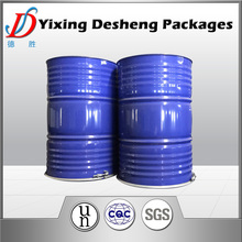 200L used empty Chemical oil Drum with top Ring Lock Lid Steel Pails Customized Logo
