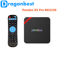 Factory Directly Pendoo X5 Pro RK3229 1G 8G TV Box google android 5.0 tv box China Android 6.0 set top