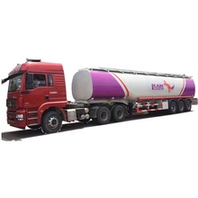 50000Liters 45000L Diesel gas delivery FUEL OIL TANKER 3-AXLE SEMITRAILER carbon steel alloy fuel tank trailer price