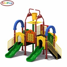 KINPLAY brand kids large outdoor playground area plastic water slide