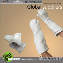 Industry Rotating Mining&minerals Two Fingers Non-asbestos Safety Gloves