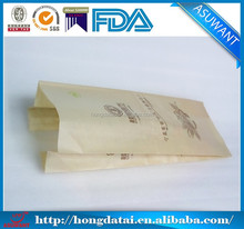Import companies and factories stand up Bread paper bags with kraft paper made