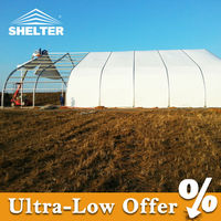Modern free standing large tents for sale with white PVC cover