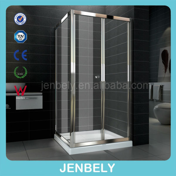 6mm 800x800x1850mm Adjustable cheap shower enclosure