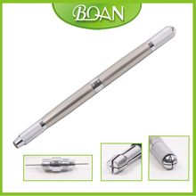 BQAN New Multi-functional Silver Handle Tattoo Tool Manual Eyebrow Tattoo Microblading Pen For Eyebrow 3D