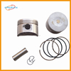 engine parts 110cc Piston and piston ring fit for motorcycle