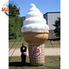 15' inflatable ice cream cone cartoon for promotion