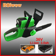 Garden Tools 36V Li-ion Battery Cordless Chainsaws