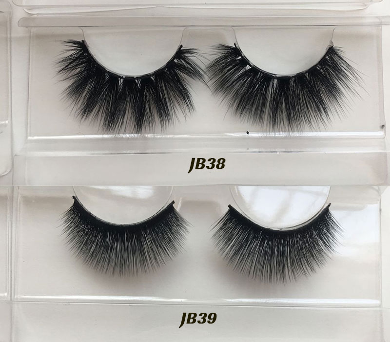 New Styles Top Quality Custom Lashes Packaging 3D silk False Eyelashes premium silk eye Lashes