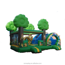 SNOW Commercial inflatable bouncer with prices , inflatable bouncy castle with pool , inflatable jumping castle