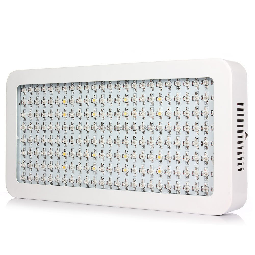 Hot Selling 600W Led Grow Light Full Spectrum Panel Lamp 200X3W Led Chip for Hydroponics Indoor Plants Veg Flower Bloom