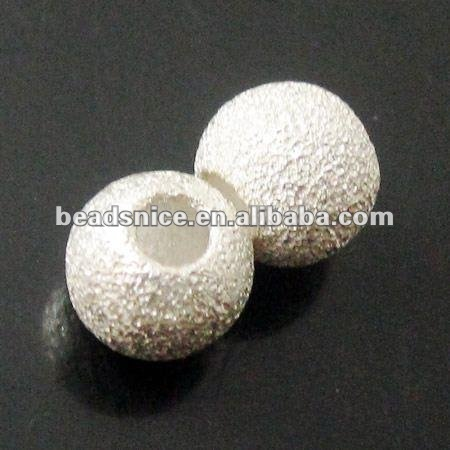 Beadsnice Hot sale sterling silver stardust beads