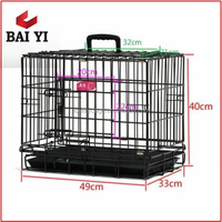 "Trade Assurance 20"", 24"", 30"", 36"", 42"", 48"" Metal Dog Cage And Crate For Sale"