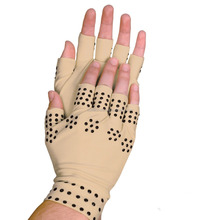 Magnetic Compression Therapy Fingerless Pain Relief Gloves