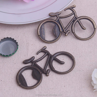 Good quality bike shaped metal bottle opener wedding gifts for wholesale