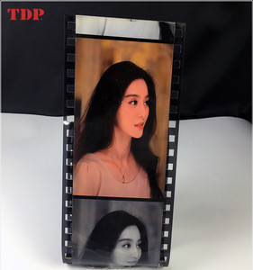 film shape photo album display stand photo display racks picture display racks and stands