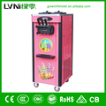three flavor floor standing pre-cooling system ice cream machine soft serve