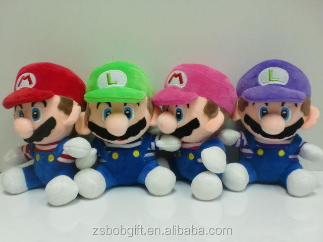 New super mario bros plush toys/Super Mario bros toys