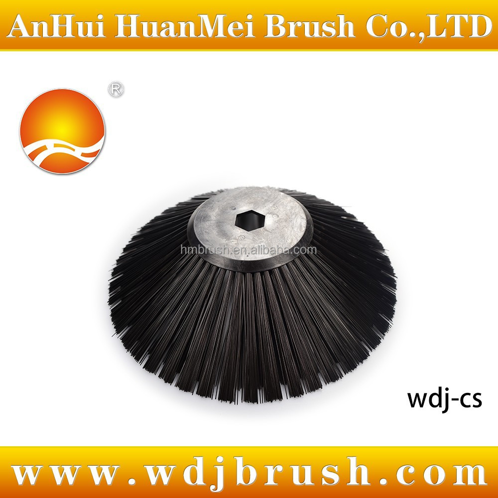 Tennant road sweeper side brush