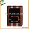 unique case for ipad 4/3/2 ,real wood case for ipad 2 hot sale in shenzhen