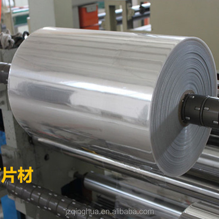 PET plastic recycle plastic sheet in roll