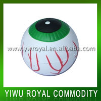 Eyeball Shaped Soft PU Stress Ball