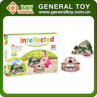 Intelligent Children 3D Puzzle House Model Toy