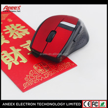 2.4G wireless mouse with lithium battery charge computer mouse