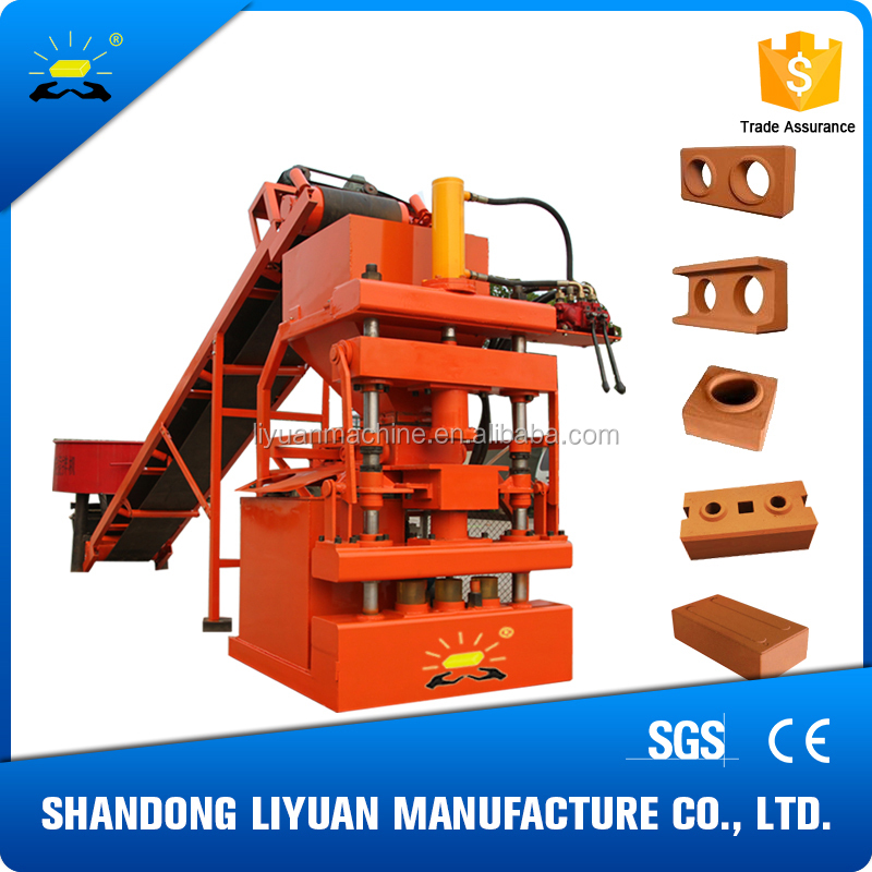 LY1-10 fully automatic clay brick plant price