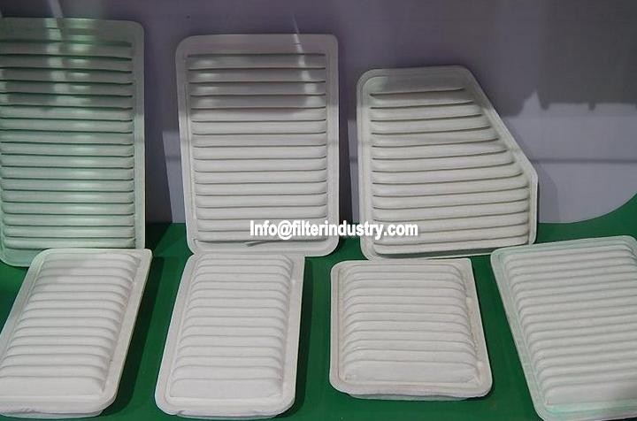 Toyota Eco Air Filter Heating Machine