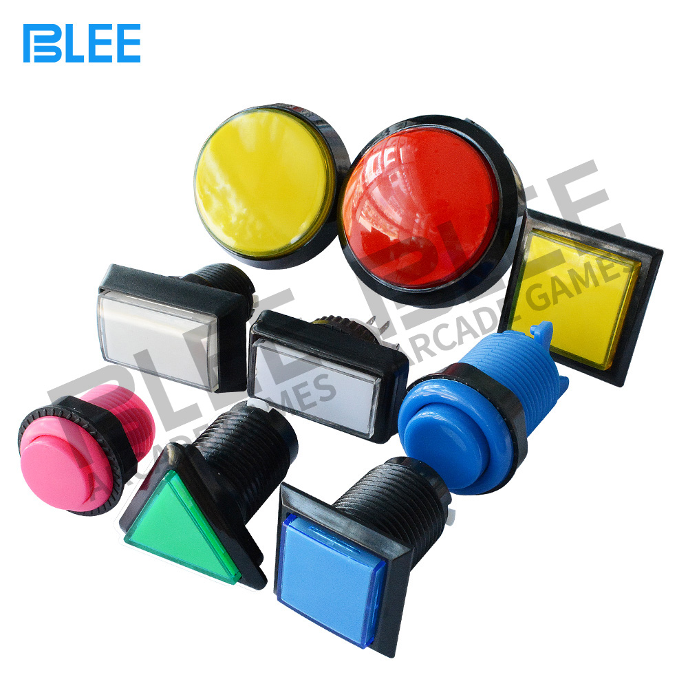 Arcade game machine parts factory direct wholesale different kinds zero delay illuminated switch LED arcade push button