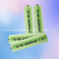 aaa 900mah nimh rechargeable battery pack