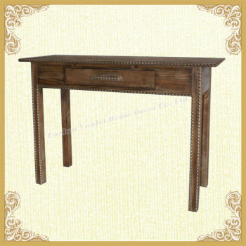 China fir wood console table furniture factory