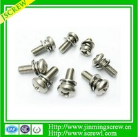M6 Hot sale combined screw for all size made in china