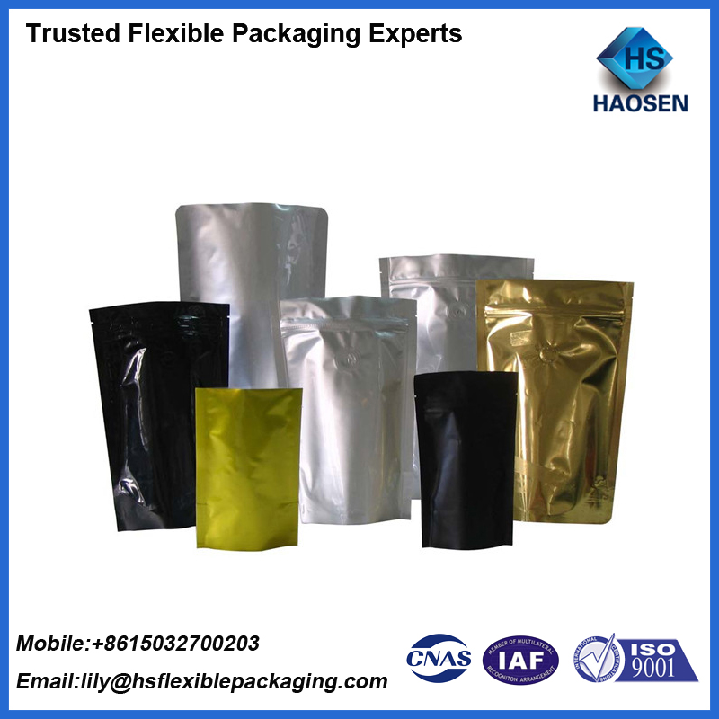 Aluminum Foil Coffee Pouch Food Package Coffee Bean Bag On Alibaba.com